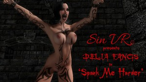 Delia Fangs in the Dungeon SinVR Delia Fangs vr porn game vrporn.com virtual reality