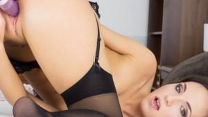 Kristy Black DP Dildo czechvr Kristy Black vr porn video vrporn.com virtual reality
