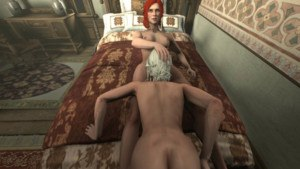 Ciri's Unexpected Summons CGI Girl DarkDream vr porn video vrporn.com virtual reality