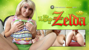 The Legend Of Zelda - Zelda Rides a Dildo VR3000 Princess Zelda VR porn video vrporn.com