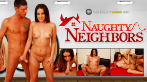 Naughty Neighbors - Fucking a Sexy Teen Brunette Porn VR VR3000 Mila Marx VR porn video vrporn.com