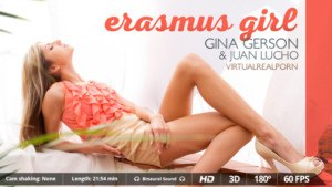 Erasmus Girl - VR Erotic International Adventures VirtualRealPorn Juan Lucho Gina Gerson VR porn video vrporn.com