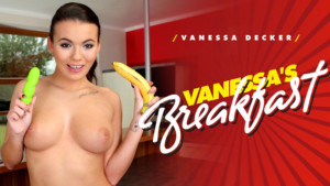 Vanessa's Breakfast RealityLovers Vanessa Decker vr porn video vrporn.com virtual reality