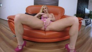 Blonde MILF In Pink Underwear RealityPussy Subzero vr porn video vrporn.com virtual reality