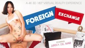 Foreign Exchange vrbangers Jureka-Del-Mar vr porn video vrporn.com virtual reality