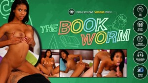 The Bookworm vr3000 Nia-Nacci vr porn video vrporn.com virtual reality