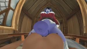 [Shemale] Draenei Christmas Ride [Futa x Futa] itsMorti vr porn video vrporn.com virtual reality
