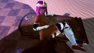 Street Fighter - Your fortune with Menat DarkDreams vr porn video vrporn.com virtual reality
