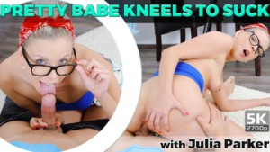Pretty-Babe-Kneels-To-Suck-TmwVRnet-Julia-Parker-vr-porn-video-vrporn.com-virtual-reality