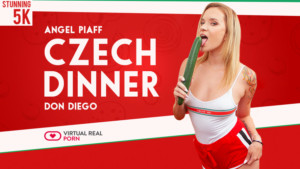 Czech Dinner VirtualRealPorn Angel Piaff vr porn video vrporn.com virtual reality