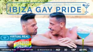 Gay Ibiza Gay Pride VirtualRealGay Gabriel Lunna & Marc Ferrer vr porn video vrporn.com virtual reality