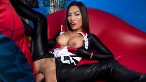 Silk A XXX Parody VRCosplayX Polly Pons vr porn video vrporn.com virtual reality