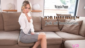 Job Interview VRSexperts Victoria Puppy vr porn video vrporn.com virtual reality