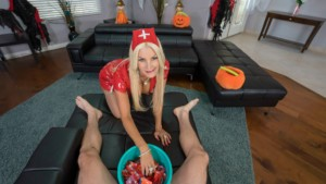 I Love Candy On Halloween VRHush Brittany Andrews vr porn video vrporn.com virtual reality