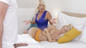 Stepmom Takes It Deep While Sister's Asleep VirtualTaboo Tiffany Rousso Helena Moeller vr porn video vrporn.com virtual reality