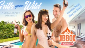 Grills Gone Wild! VR Bangers Abby Lee Brazil Valentina Nappi vr porn video vrporn.com virtual reality
