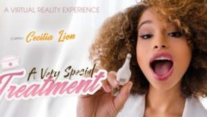 A Very Special Treatment VR Bangers Cecilia Lion vr porn video vrporn.com virtual reality