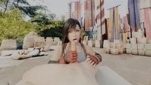 FFVII: Tifa licking LewdVROfficial vr porn video vrporn.com virtual reality