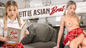 Little Asian Brat VR Bangers Lulu Chu vr porn video vrporn.com virtual reality