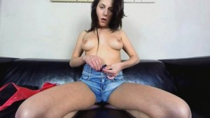 Rita Sinclair - This Chick In Short Shorts Gives Sexy Show Czechvr vr porn video vrporn.com virtual reality